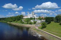Catedral de la suposición en Vitebsk, Bielorrusia imagen de archivo libre de regalías