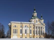 Catedral de la suposición, región de Totma Vologda, Rusia Fotografía de archivo