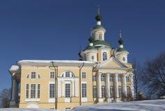 Catedral de la suposición, región de Totma Vologda, Rusia Fotos de archivo libres de regalías
