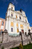 Catedral de la transfiguración del señor, Kremenets, Ucrania Fotografía de archivo