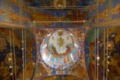 Catedral de la transfiguración en el monasterio del santo Euthymius Suzdal Fotografía de archivo libre de regalías