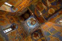 Catedral de la transfiguración en el monasterio del santo Euthymius Suzdal Foto de archivo