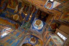 Catedral de la transfiguración en el monasterio del santo Euthymius Suzdal Fotografía de archivo