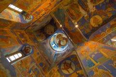 Catedral de la transfiguración en el monasterio del santo Euthymius Suzdal Imágenes de archivo libres de regalías