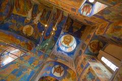 Catedral de la transfiguración en el monasterio del santo Euthymius Suzdal Imagen de archivo