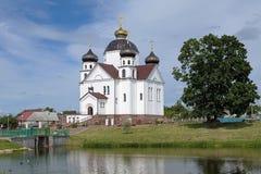 Catedral de la transfiguración en Smorgon, Bielorrusia imagen de archivo libre de regalías
