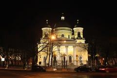 Catedral de la transfiguración (St Petersburg) Fotos de archivo libres de regalías
