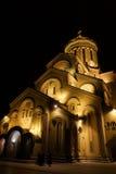 Catedral de la trinidad del santo imagen de archivo libre de regalías