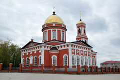 Catedral de la trinidad en el Birsk Imagenes de archivo