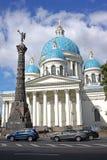 Catedral de la trinidad (Troitsky), en St Petersburg, Rusia Imagen de archivo libre de regalías