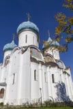Catedral de la Virgen María en abadía del sergei de Sam, Federación Rusa Fotografía de archivo libre de regalías