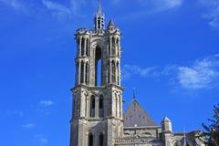 Catedral de Laon, Francia Foto de archivo