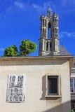 Catedral de Laon, Francia Imágenes de archivo libres de regalías
