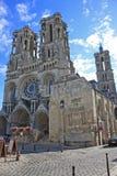 Catedral de Laon, Francia Fotografía de archivo libre de regalías