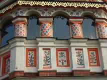 Catedral de las albahacas del St - cuadrado rojo de Moscú Foto de archivo libre de regalías