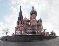 Catedral de las albahacas del St en Plaza Roja Imagen de archivo