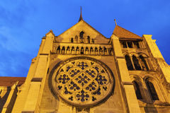 Catedral de Lausana Imagem de Stock Royalty Free