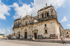 Catedral de León Imagenes de archivo