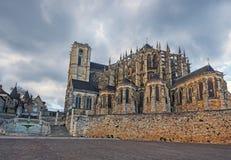 Catedral de Le Mans Imagens de Stock