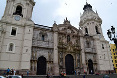 Catedral de Lima - Cathedral of Lima Royalty Free Stock Images