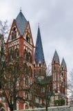 Catedral de Limburgo, Alemania foto de archivo