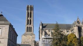 Catedral de Limoges en Francia metrajes