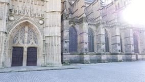 Catedral de Limoges en Francia almacen de video