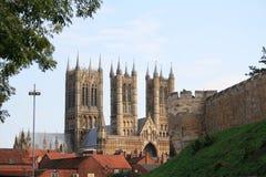 Catedral de Lincoln Imagen de archivo libre de regalías