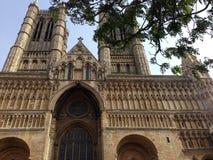 Catedral de Lincoln, Inglaterra, Reino Unido Fotografía de archivo