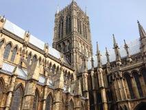 Catedral de Lincoln, Inglaterra, Reino Unido Imagen de archivo libre de regalías