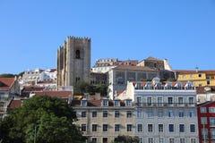 Catedral de Lisboa portugal Fotografía de archivo