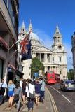 Catedral de Londres Imagen de archivo libre de regalías