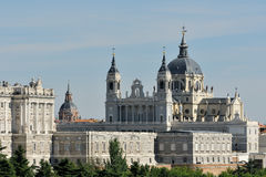 Catedral De Los angeles Almudena Fotografia Stock