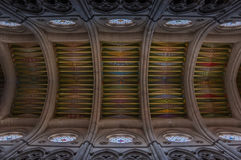 Catedral De Los angeles Almudena Wnętrze Ja Obrazy Stock