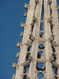 Catedral De Los angeles Santa Cruz y Santa Eulalia, Barcelona Zdjęcie Stock