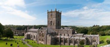 Catedral de los davids del St en País de Gales Fotos de archivo