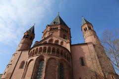 Catedral de los Dom de Mainzer Fotografía de archivo