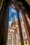 Catedral de los Dom de Mainzer en Maguncia Imagen de archivo