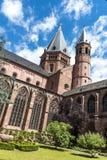 Catedral de los Dom de Mainzer en Maguncia Fotos de archivo