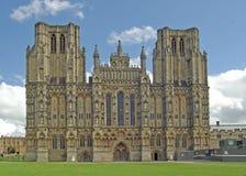 Catedral de los receptores de papel Imagen de archivo libre de regalías