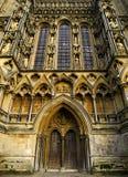 Catedral de los receptores de papel Foto de archivo libre de regalías