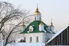 Catedral de los santos Peter y Paul, Rusia, ondulación permanente Imagenes de archivo
