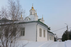 Catedral de los santos Peter y Paul, Rusia, ondulación permanente Fotografía de archivo libre de regalías