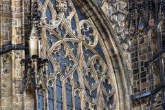 Catedral de los santos Vitus, Praga Fotos de archivo libres de regalías