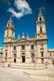 Catedral de Lugo Imágenes de archivo libres de regalías