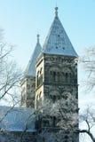 Catedral de Lund Fotos de Stock Royalty Free