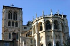Catedral de Lyon Fotos de archivo