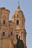 Catedral de Málaga fotos de archivo