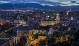 Catedral de Málaga Imágenes de archivo libres de regalías