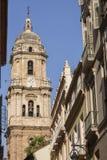 Catedral de Málaga foto de archivo